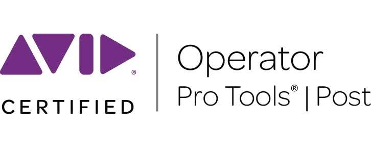 Avid, Pro Tools, Operator, Certified