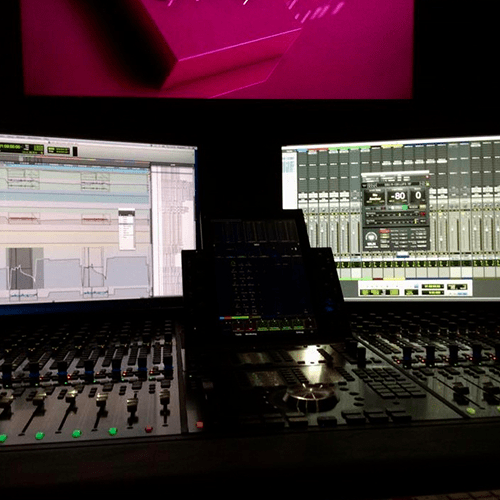 Pro Tools, S6 Desk, mixer, mixing desk, post production, automation, waves, very
